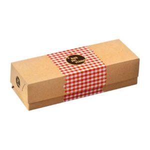 Κουτί ψητοπωλείου με αλουμίνιο καρό sf57 papabros