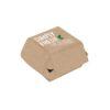Κουτί χάρτινο burger οικολογικό green line papabros