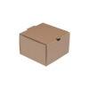 Κουτί Χάρτινο microwelle burger ατομικό κλειστό 12X12X8 papabros