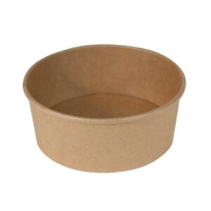 Μπολ χάρτινο κουτί σαλάτας κράφτ 1100cc papabros
