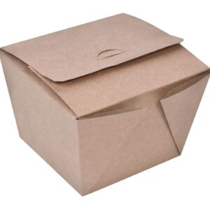 Κουτί χάρτινο κράφτ burger x-large 11,5x11x10 papabros