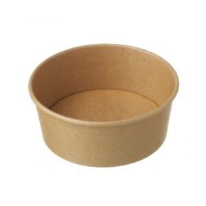 Μπολ χάρτινο κουτί σαλάτας κράφτ 1200cc papabros